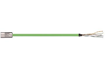readycable® 反馈电缆,符合Allen Bradley标准2090-CFBM4DF-CDAFxx,基础电缆PUR 7.5 x d