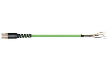 readycable® 反馈电缆,符合Allen Bradley标准2090-CFBM7DF-CDAFxx,基础电缆PUR 7.5 x d