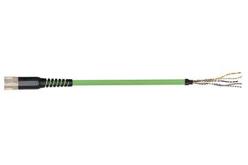 readycable® 反馈电缆,符合Allen Bradley标准2090-CFBM7DF-CDAFxx,基础电缆PUR 10 x d