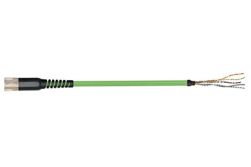 readycable® 反馈电缆,符合Allen Bradley标准2090-CFBM7DF-CEAFxx,基础电缆PUR 7.5 x d