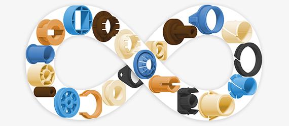igus® 根据您的特定要求定制的各种轴承