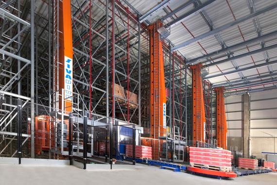 guidelok slimline P 用于 SIVAplan GmbH & Co. KG 的储存系统