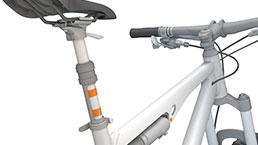 高性能塑料轴承在山地车上的应用