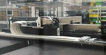 带空气轴承的线性系统中的 e-skin flat