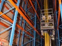 高架仓库储存和提取设备