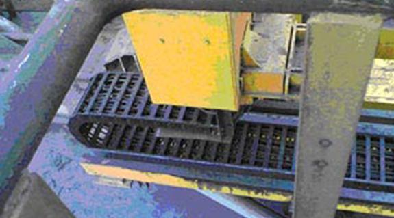 原油金属/金属废料的卸料站